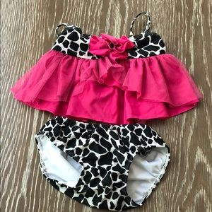 Bathing suit bikini Size 12 months New condition